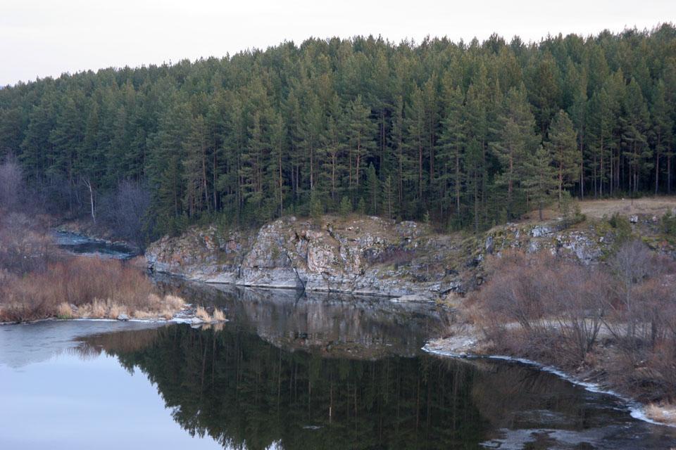 Реж - красивейшая река на Урале