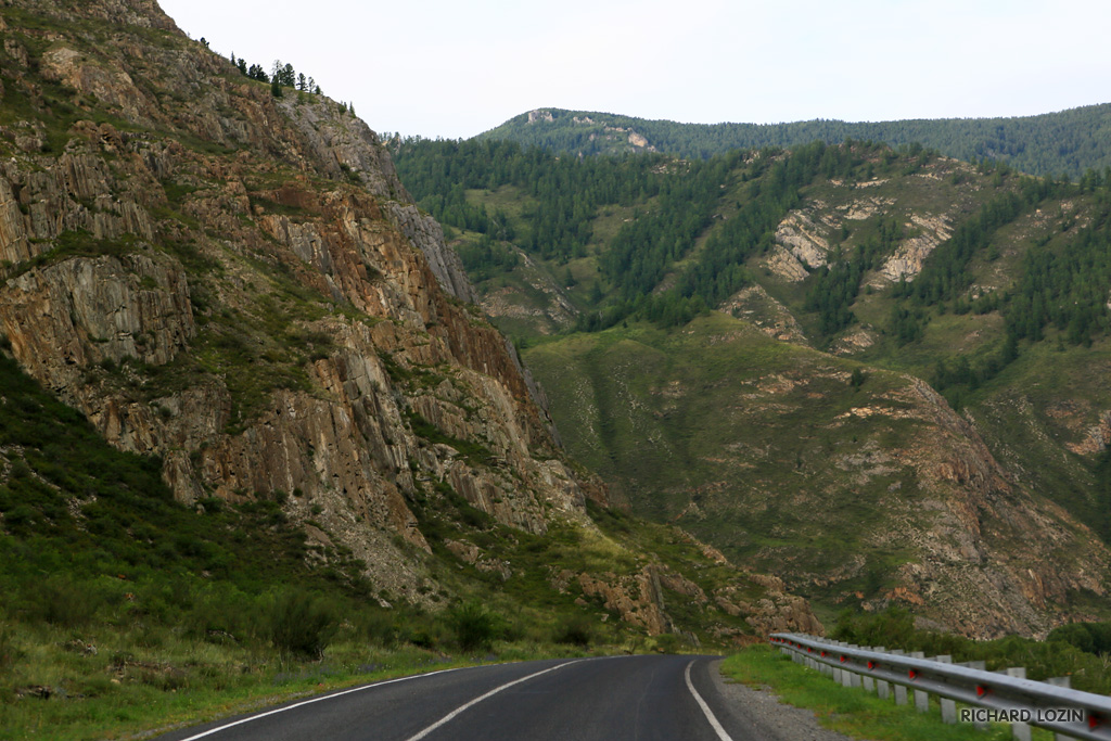 Чуйский тракт, м-52 / russian route m52, chuya highway or chuysky trakt
